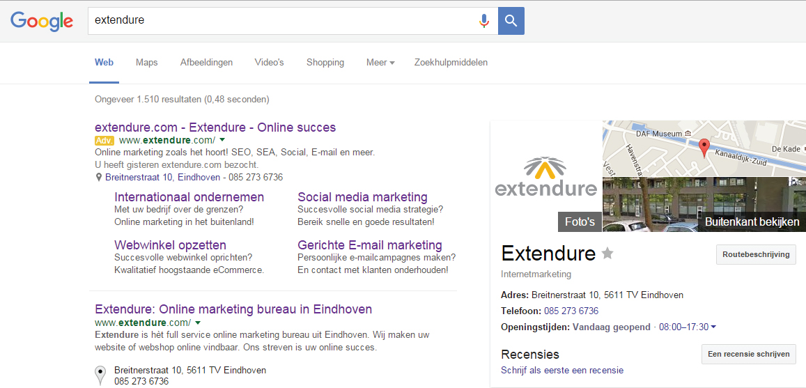 Extendure-AdWords