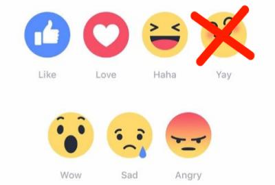 Nieuwe facebook emoticons