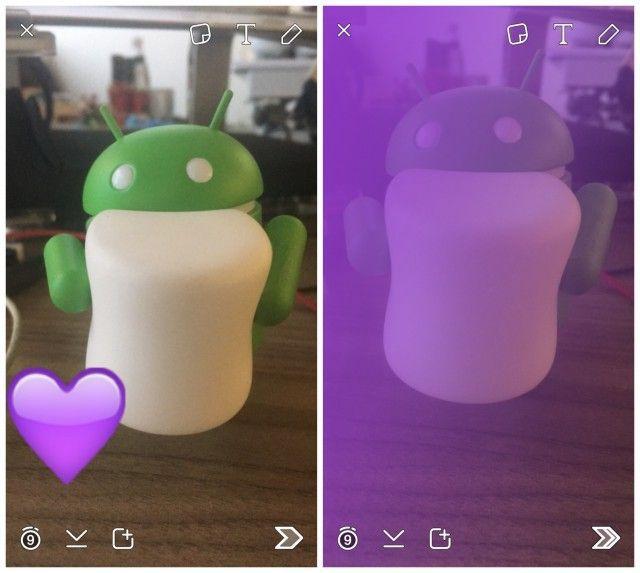 Snapchat emoij filter