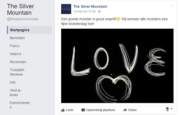 TSM social media Moederdag