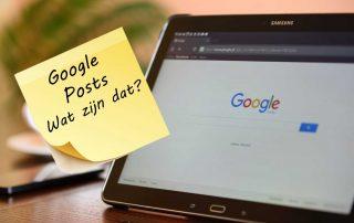 google posts uitleg