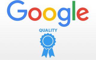 kwaliteit pagina google