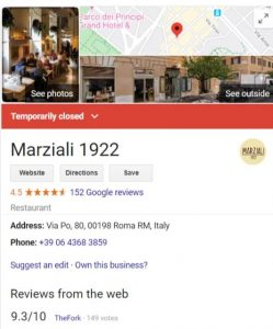 Openingstijden wijzigen google